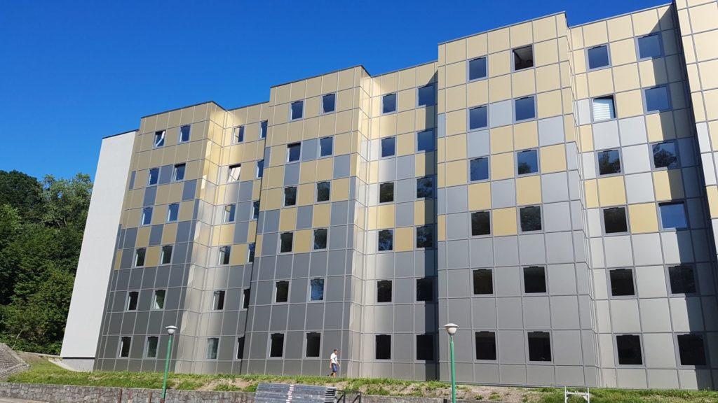 Akademia Marynarki Wojennej budynek 365 po termomodernizacji